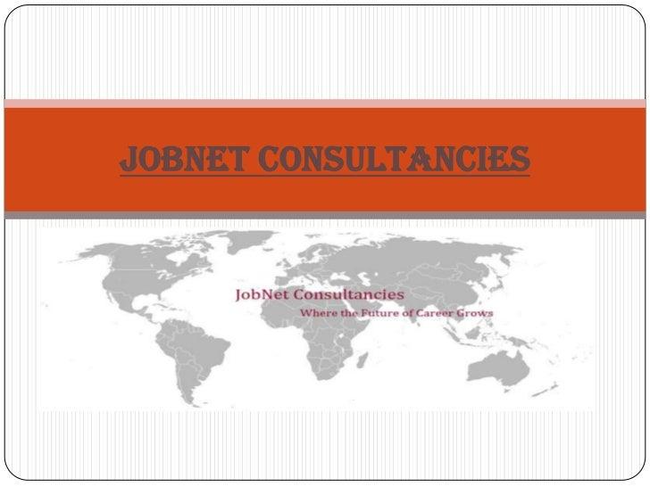 JobNet Consultancies<br />
