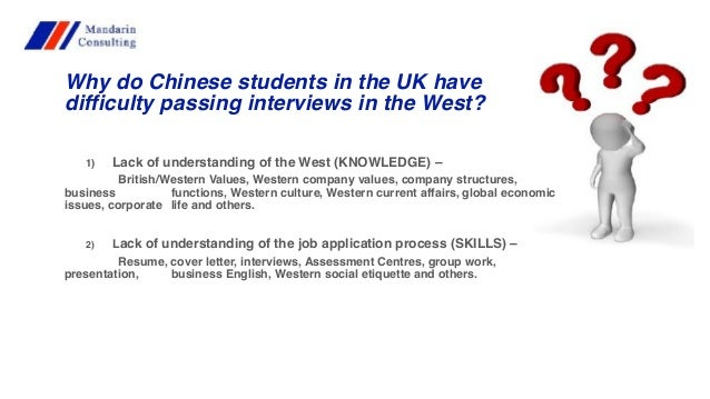 Job Opportunities For Chinese Students And Graduates