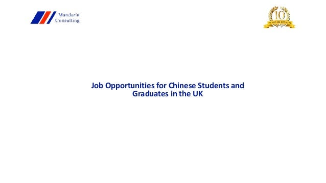 graduate employment opportunities in china Browse 2908 different 2018 graduate jobs in china on graduateland, the leading career portal for students and recent graduates.