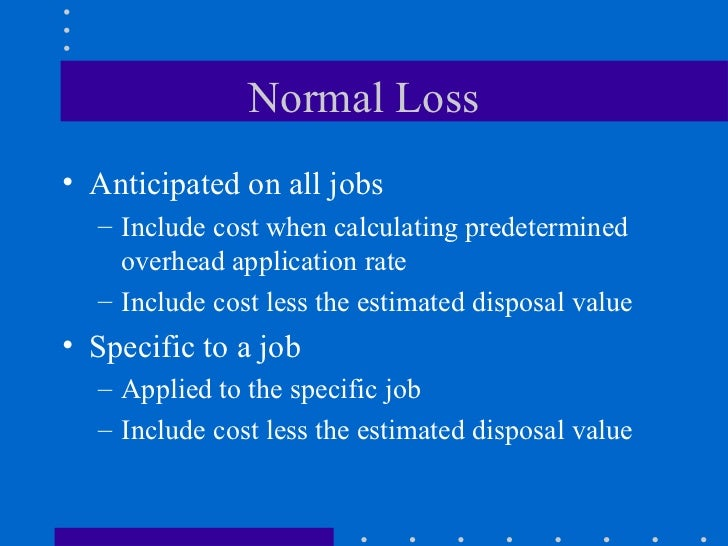 job order costing defects spoilage and scrap Spoilage, rework, and scrap  costing and job costing (3) between defects attributable to a specific job or common to all jobs in job costing (4) among spoilage.