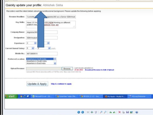 job portal analysis ppt