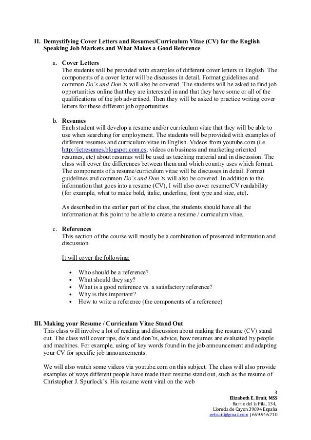 cover letter for english class. Resume Example. Resume CV Cover Letter