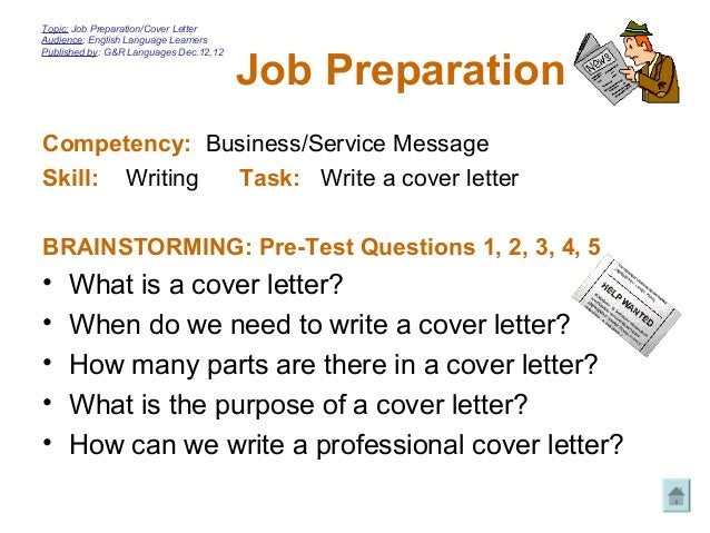 What Is The Purpose Of A Cover Letter. Cover Letter Making Purpose