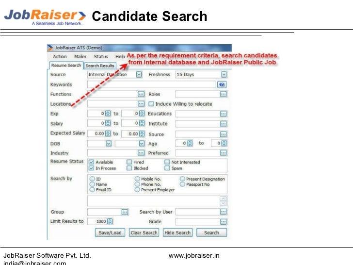 job raiser recruitment tool