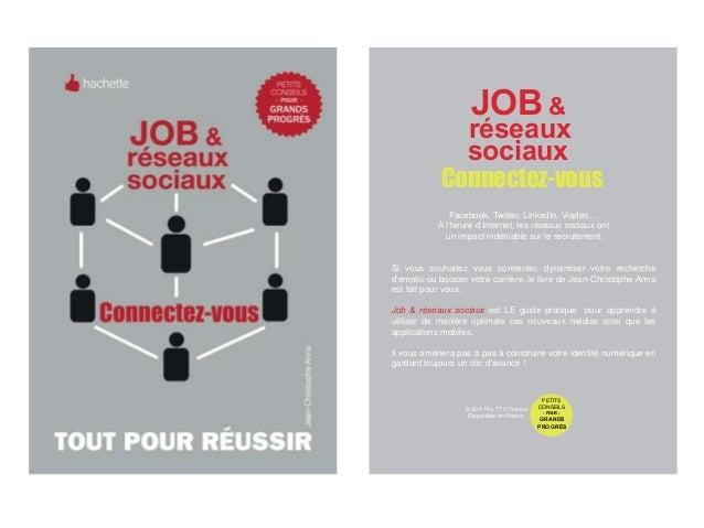 JOB &                   réseaux                   sociaux            Connectez-vous               Facebook, Twitter, Linke...