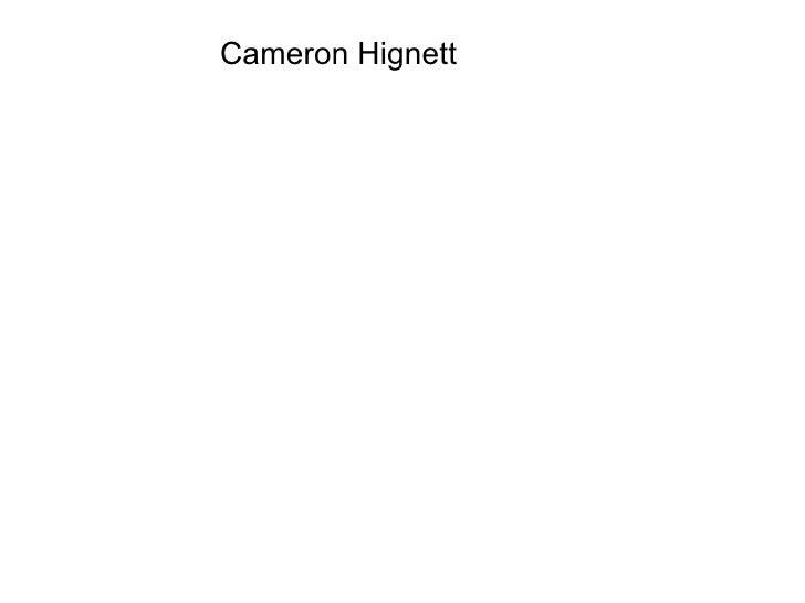 Cameron Hignett