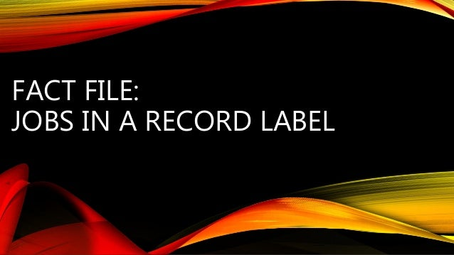 Record Label Graphic Design Jobs The Best Design 2017