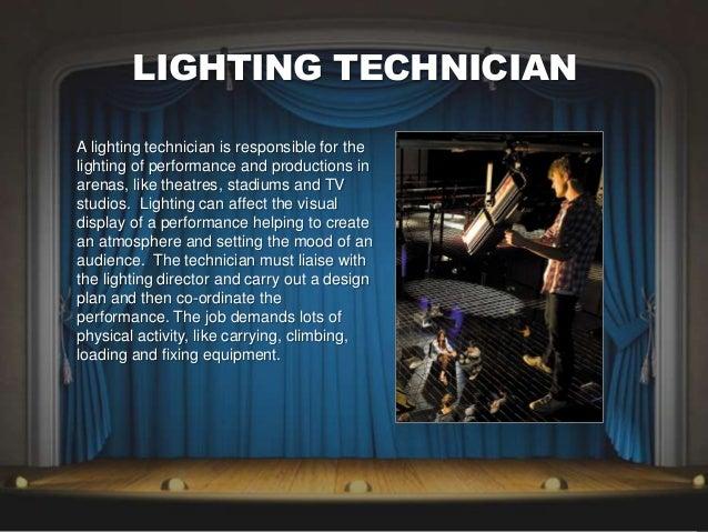 lighting technician. LIGHTING TECHNICIAN Lighting Technician O