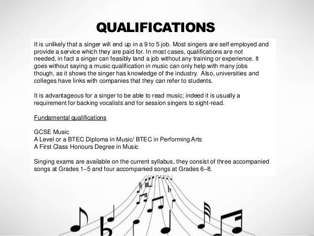 Singers And Lighting Technicians   Two Job Roles In The Music Industry