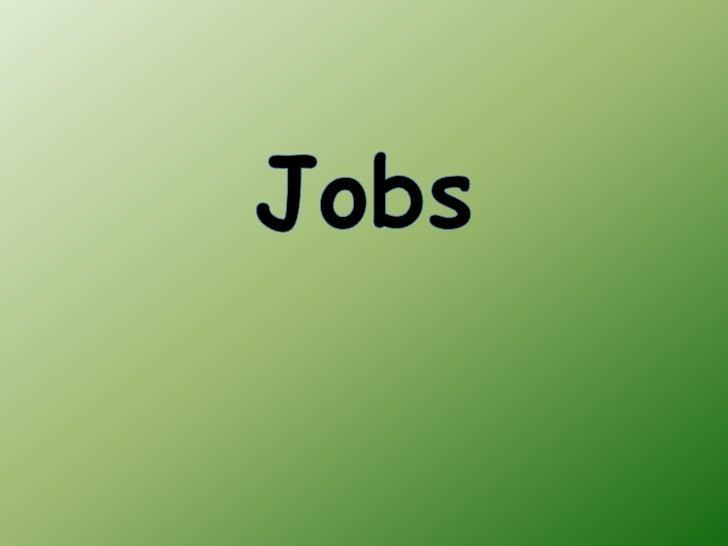 Jobs<br />
