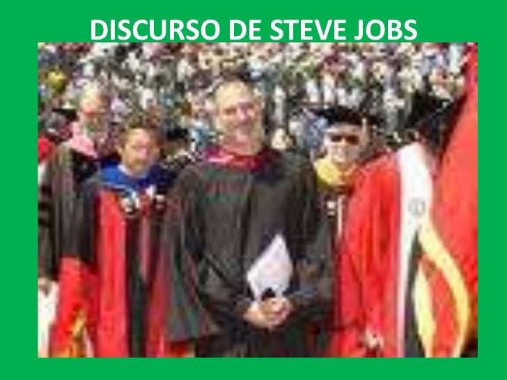 DISCURSO DE STEVE JOBS<br />