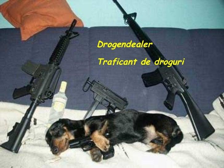 Drogendealer Traficant de droguri
