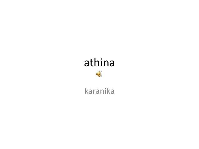 athina karanika