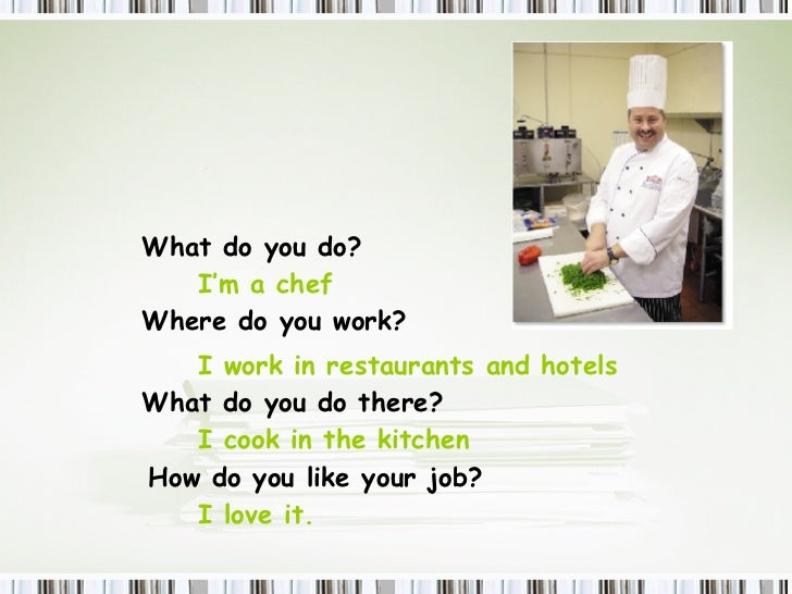 how do you work