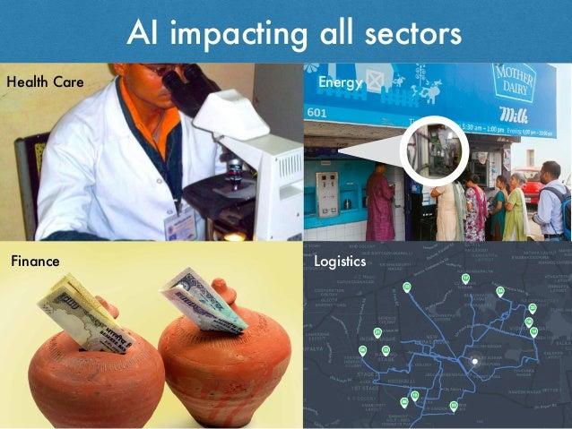 AI impacting all sectors Health Care Finance Logistics Energy