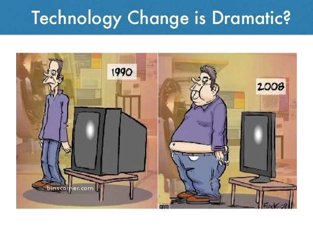 Technology Change is Dramatic?