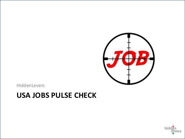 HiddenLevers USA JOBS PULSE CHECK $