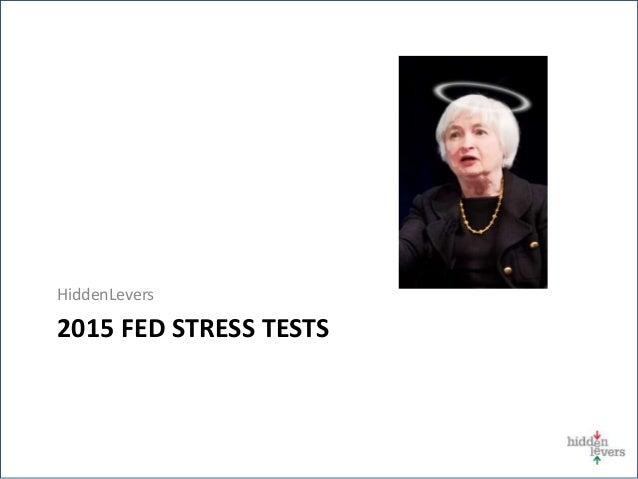 2015 FED STRESS TESTS HiddenLevers