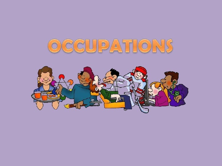 OCCUPATIONS<br />