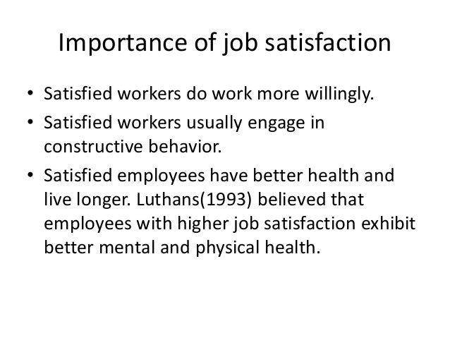 The Importance of Employee Satisfaction Surveys