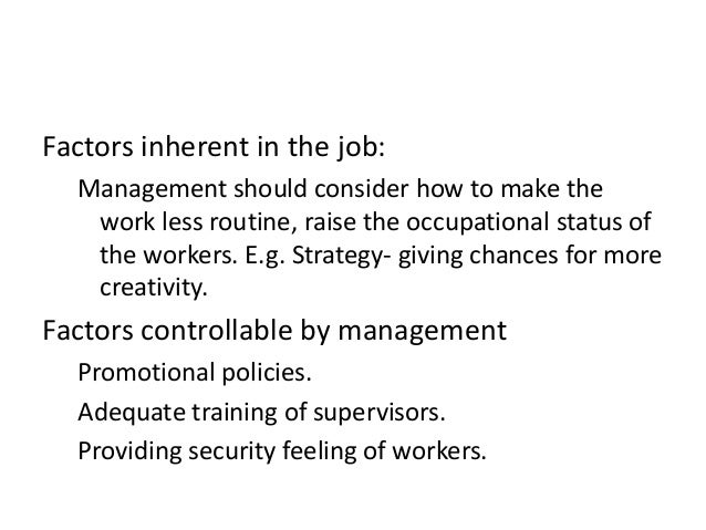 managers enhance job satisfaction Img introduction to business mgt 211 vu lesson 20 strategies for enhancing job satisfaction and morale these strategies are ways to apply manager's knowledge of what provides job satisfaction and motivates workers a reinforcement/behavior modification theory--theory that behavior can be.