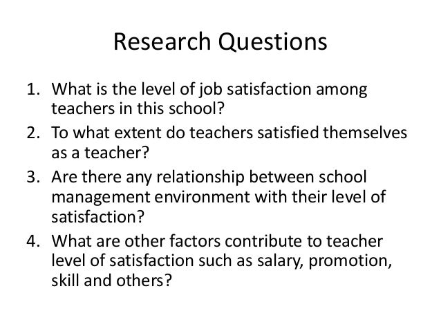 job satisfaction of high school teachers Pdf | job satisfaction is a set of favorable or unfavorable feelings and emotions  with which employees view their works it refers to a collection of attitudes that.