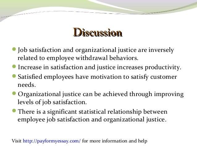 essays on job satisfaction and employee motivation