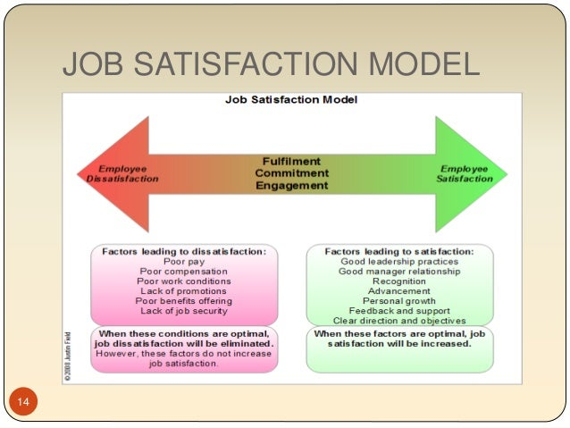 the facet model of job satisfaction theory