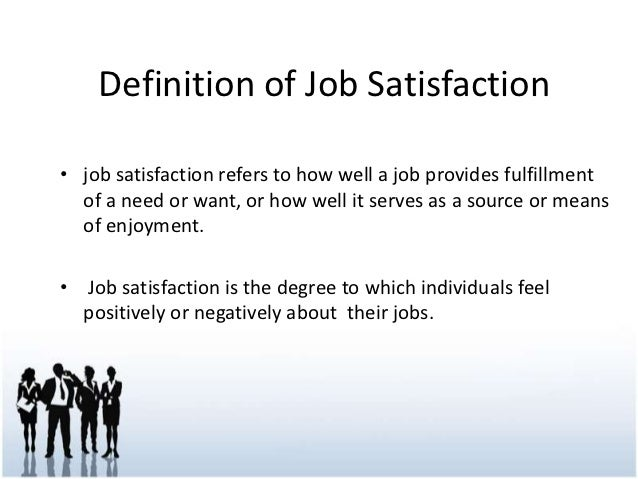 work is a source of satisfaction That satisfaction and performance are correlated possible sources of a  that  the correlation between job satisfaction and job performance is.
