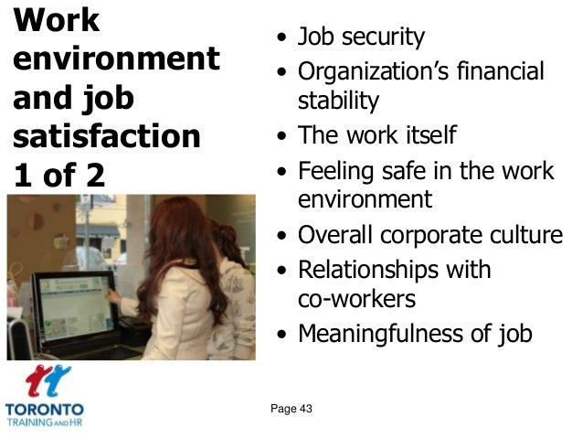 the relationship between supervisor and employee and job satisfaction Relation of employee and manager emotional intelligence to job satisfaction and performance  past research has shown that the quality of relationship between manager and employee.