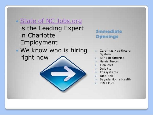 Jobs Charlotte NC