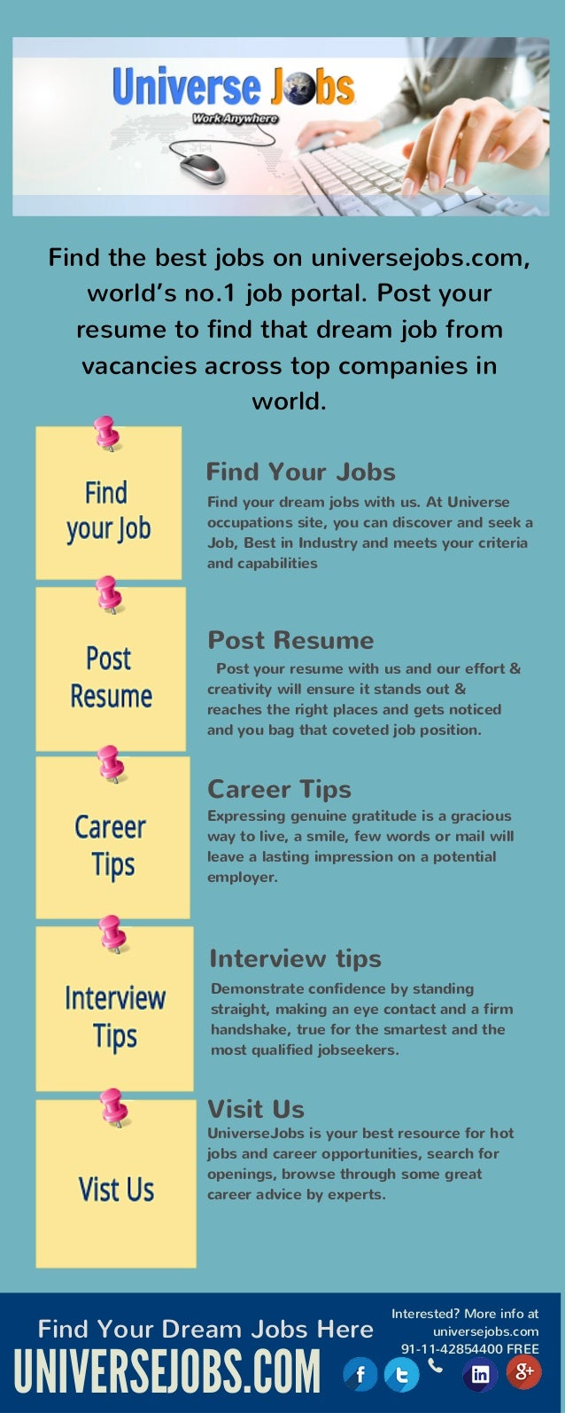 job search engines infographic find the best jobs on universejobs com world s no 1 job portal