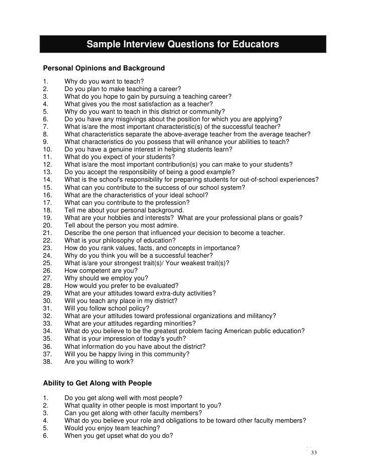Job Search Handbook For Educators Booklet
