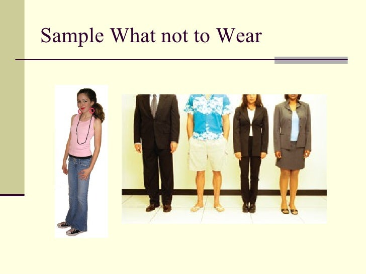 what to wear for childcare interview