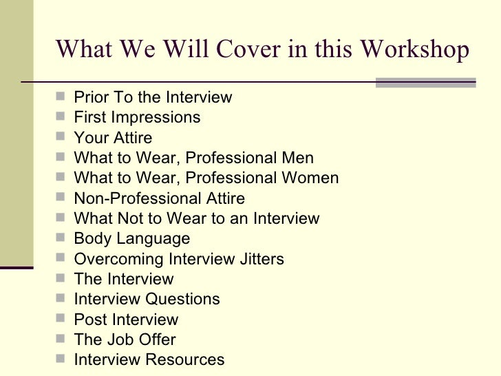 Job Searching 101 Sharpening Your Interview Skills Slide 2