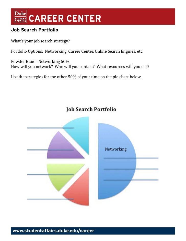 job search portfolio