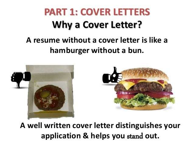 part 1 cover letters part 2 resumes 2 - Resume Without Cover Letter