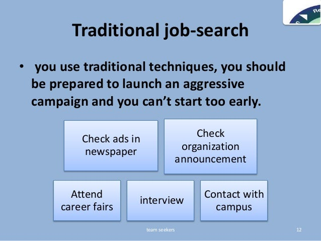 Job search & resume