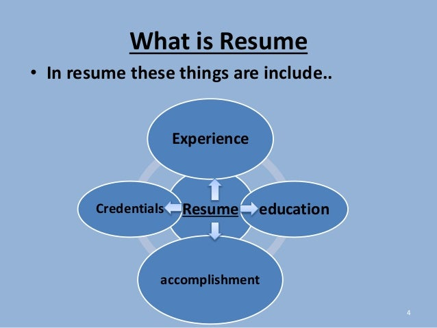 What Is Resume. Dazzling What Is A Resume Objective 8 How To Write ...