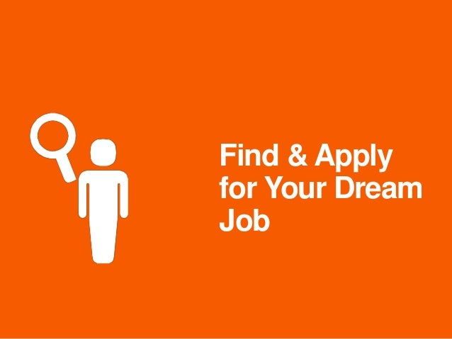 Find & Apply for Your Dream Job