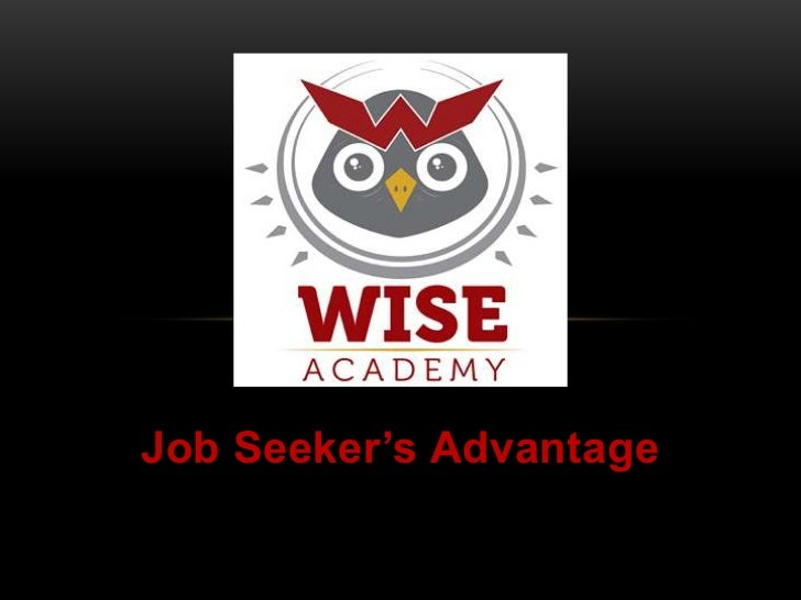 Job Seeker's Advantage<br />