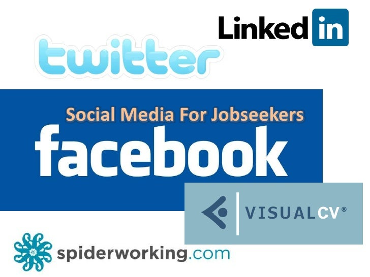 Social Media For Jobseekers<br />