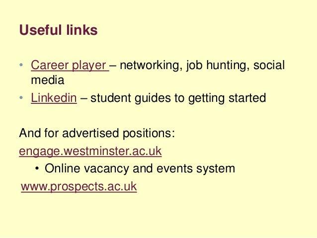 Skills Academy 2016: Job seeking and hidden jobs