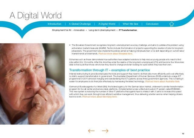 10Introduction | A Global Challenge | A Digital World | What We See | ConclusionA Digital World• The Slovakian Government...