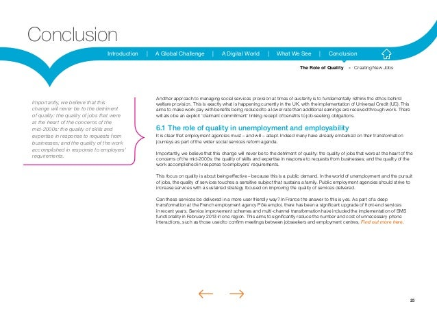 25Introduction | A Global Challenge | A Digital World | What We See | ConclusionConclusionAnother approach to managing soc...