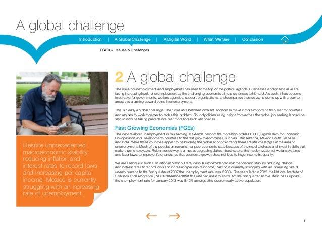 5Introduction | A Global Challenge | A Digital World | What We See | ConclusionA global challenge2 A global challengeThe i...