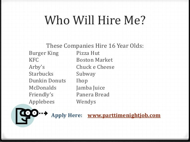 Jobs Available Near Me For 16 Year Olds