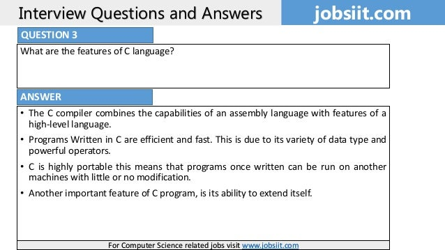 Commonly Asked C Programming Interview Questions | Set 1