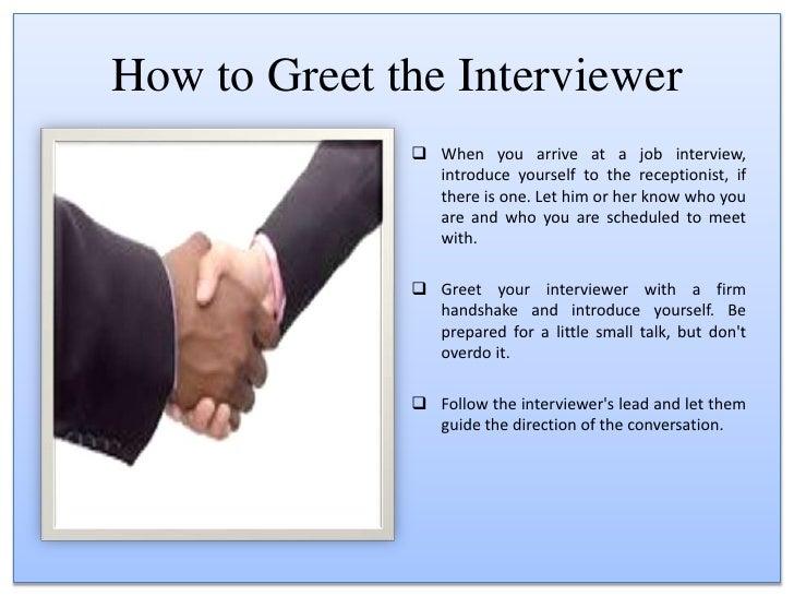 Jobs interview etiquettes 5 m4hsunfo