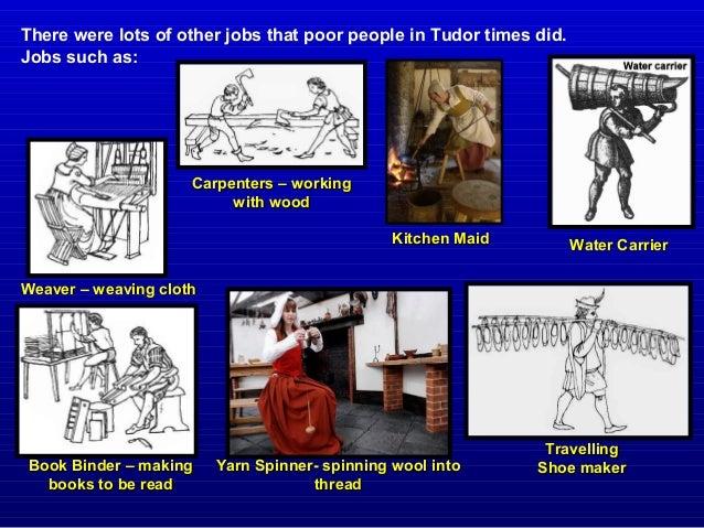 Jobs In Tudor Times